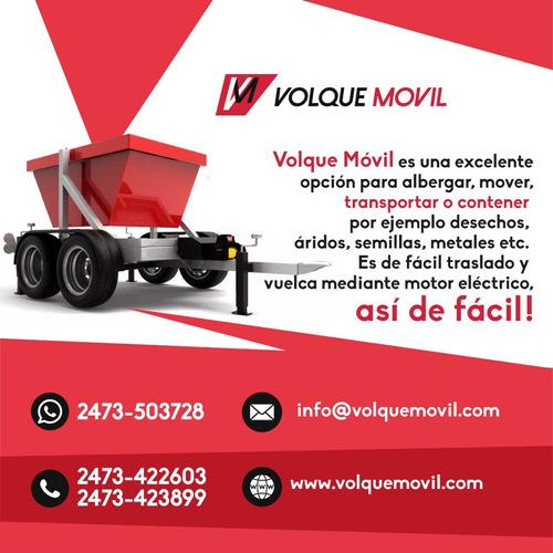 Volquemovil  El Mini Volquete Para Todo Uso
