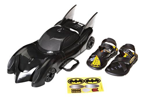 Papete Kids Menino Batman Com Batmóvel - Grendene