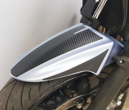 Protetor Adesivo Paralama Carbono Moto Suzuki Bandit 650 S N