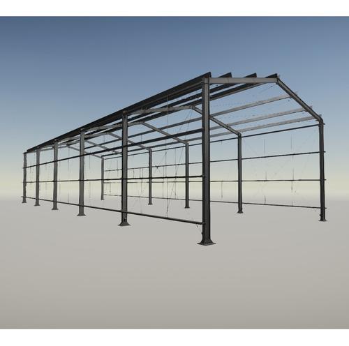 Projeto De Galpão De Estrutura Metálica