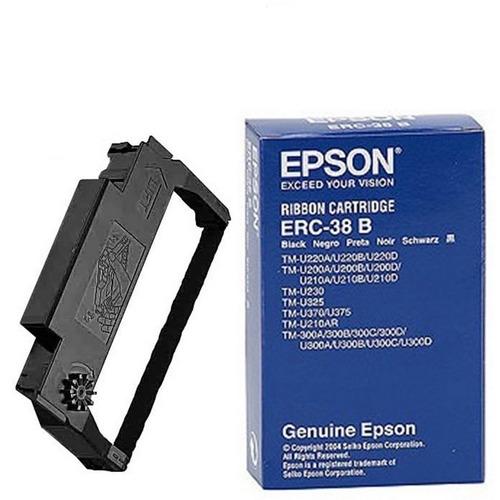 Epson Cinta Original Para Impresora Tm-200 Tm-u325 Erc-38b