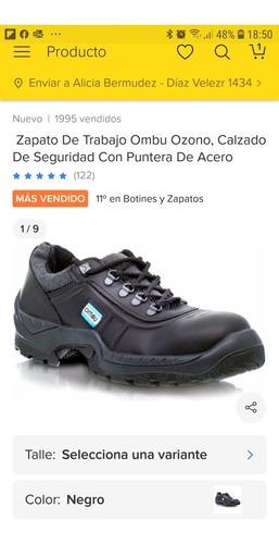 Zapato Ombu De Trabajo