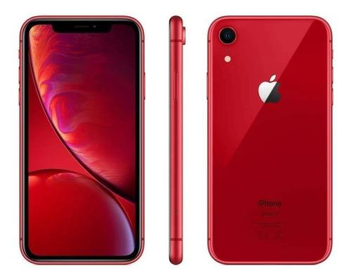iPhone XR 128gb - Red Usado Padrão Vitrine Original 12x Nf!