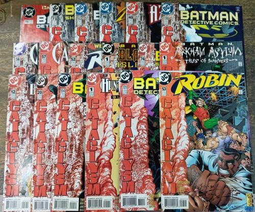 Batman * Cataclysm ! * 18 Revistas * Dc * Ingles * Completa