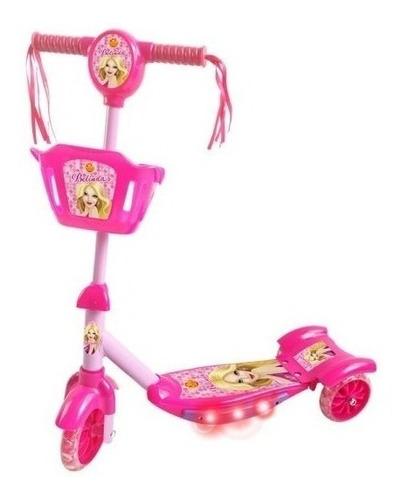 Patinete Infantil Radical Meninas 3 Rodas Musical Belinda