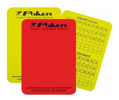 Cartão Arbitragem Oficial  Poker Original