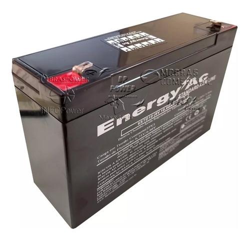 Bateria 6v 10ah - Moto Elétrica,brinquedo, Carrinho Eletrico