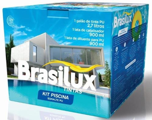 Kit Piscina Reforma E Repintura Brasilux