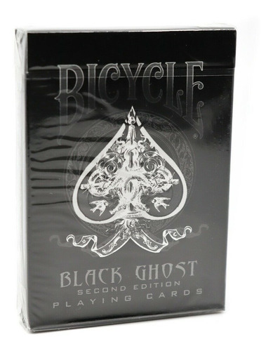 Baralho Bicycle  Black Ghost  Ilusionista Magica