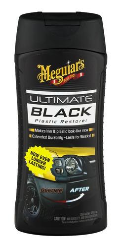 Meguiar's Ultimate Black - Restaurador Partes Negras