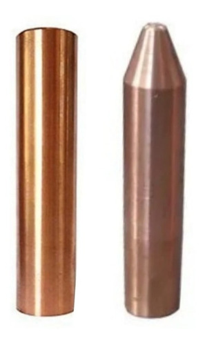 Electrodos De Punto Y Plano De 50 X 16