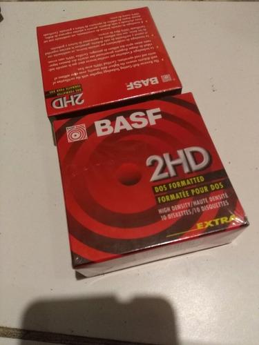 Diskettes Basf 2hd - Caja Cerrada Por 10 Unidades