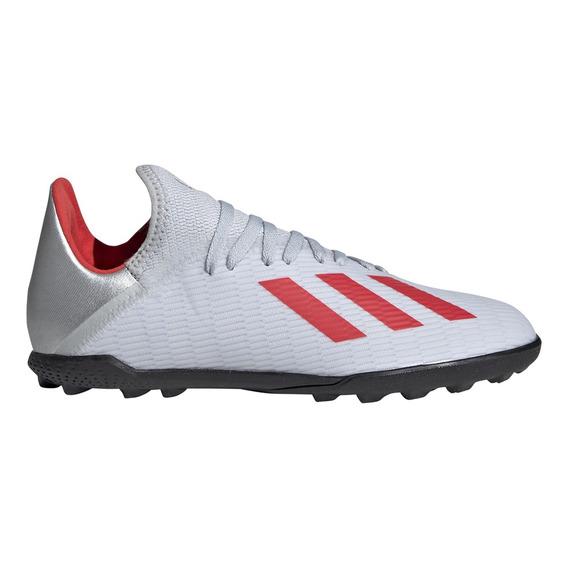 Botines adidas Futbol X 19.3 Tf J Niño Gr/rj