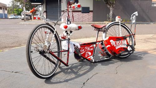 Bicicleta Barra Circular Customizada Feita Do Zero