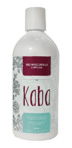 Kaba Biomascarilla Capilar 500ml - Ml A - mL a $98