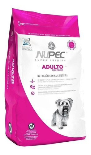 Alimento Nupec Nutrición Científica Para Perro Adulto De Raza Pequeña Sabor Mix En Bolsa De 2kg