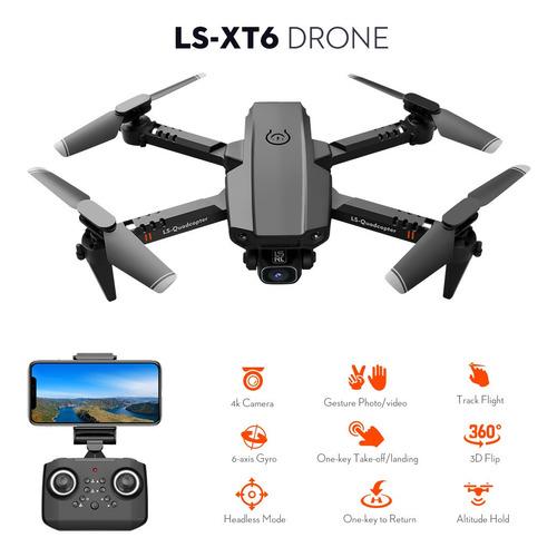 Ls-xt6 Rc Drone Com Câmera 4k Camera Faixa De Voo Gravity