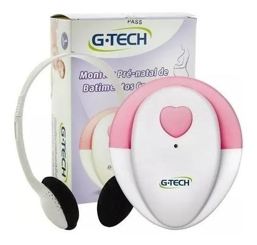 Aparelho Para Ouvir Coração Do Bebê Monitor Pré-natal G-tech