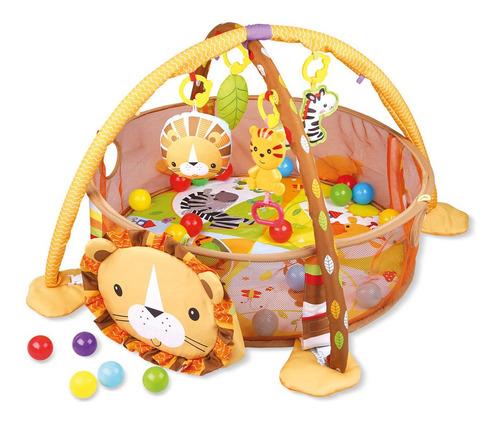 Tapete Atividades Piscina De Bolinhas 3 Em 1 Baby Style