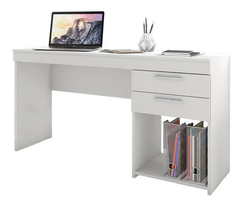 Mesa Para Computador/notebook Home Office Com 2 Gavetas