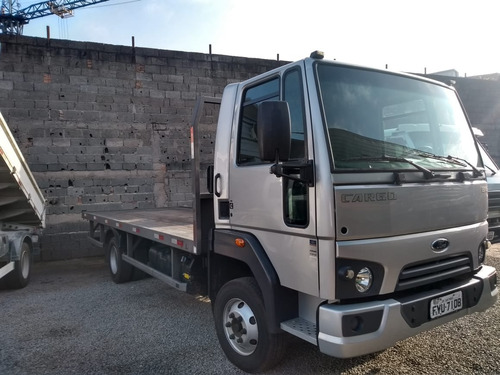 Ford Cargo 816 C/ Plataforma De Madeira Fixa