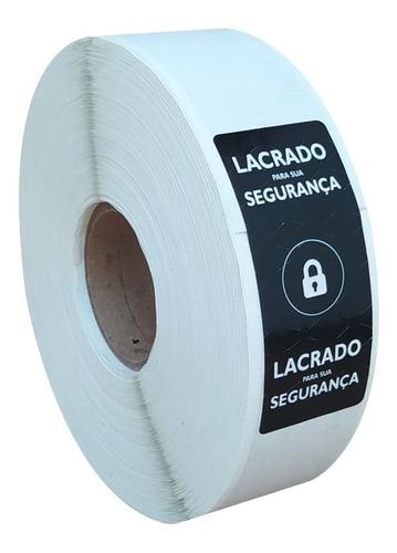 Etiqueta Lacre Segurança Adesivo Para Embalagens 1.000 Und