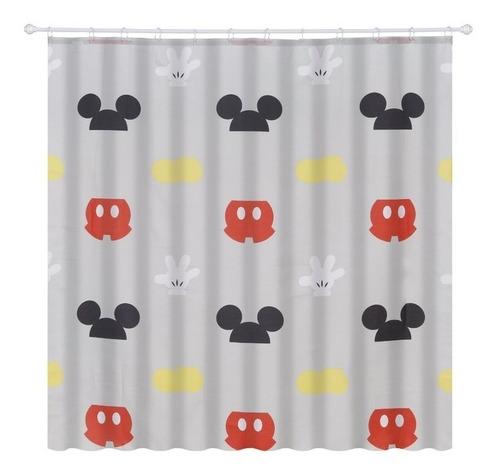 Cortina Mickey Mouse De Box 100% Poliéster 180x180cm