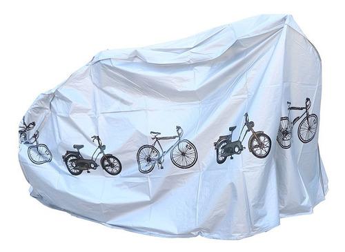 Capa De Chuva E Proteção De Bike Bicicleta Moto Impermeável