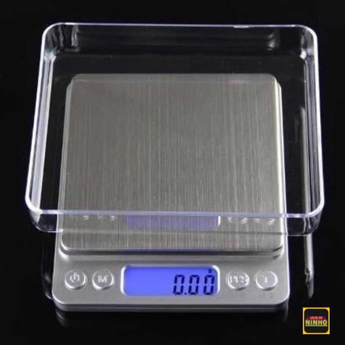 Mini Balança Digital De Bolso 0,1g Até 2000g Profissional