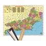 Mapa Estado Do Rio De Janeiro 120 X 90cm Gigante Enrolado