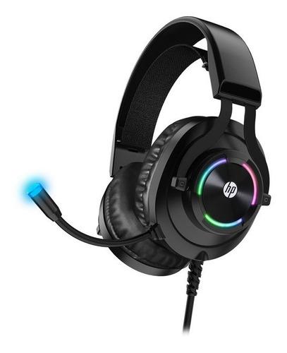 Headset Gamer Hp H360gs 7.1 Rgb Usb Preto
