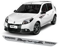 Protetor Soleira Anuncio T1 Porta Carro Renault Sandero