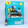 Moana Aventuras Do Mar 12 Miniaturas Exclusivas