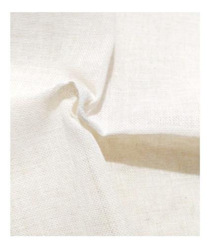 Tela Lienzo Para Bordar (liencillo) 1.50m Ancho  100%algodón