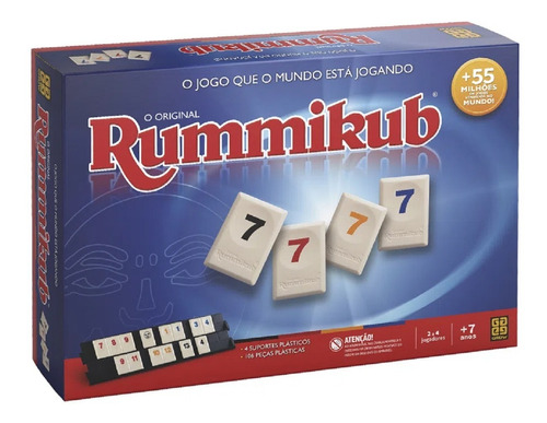 Jogo Rummikub 02090 - Grow