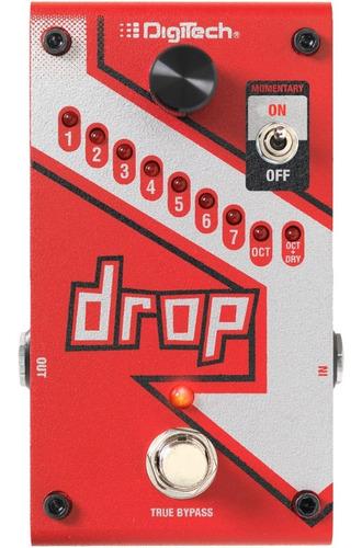 Pedal Digitech The Drop Polifônico Guitarra Baixo C/ Fonte