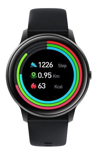 Xiaomi Imilab Kw66 Smart Watch 1.28  Caja De  Aleación De Zinc  Black Malla  Black