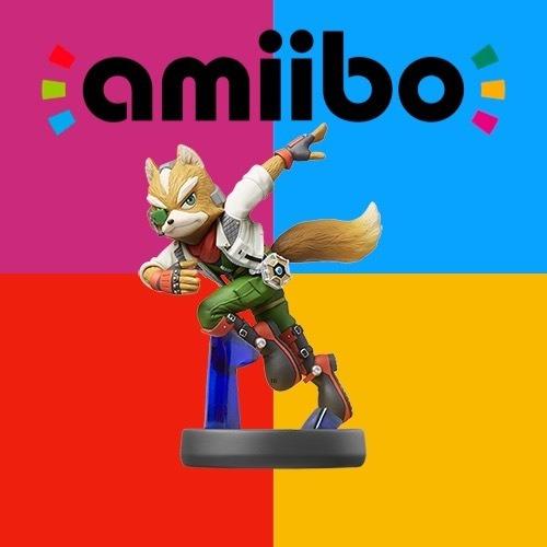 Amiibo Fox - Serie Super Smash Bros
