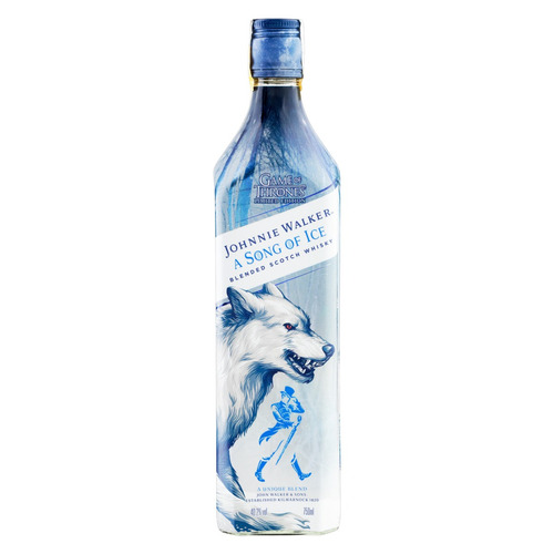 Uísque Blended Johnnie Walker A Song Of Ice Game Of Thrones Reino Unido Garrafa 750 Ml
