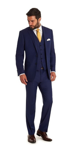 Terno Slim Masculino Paleto+calca+colete+promocao*