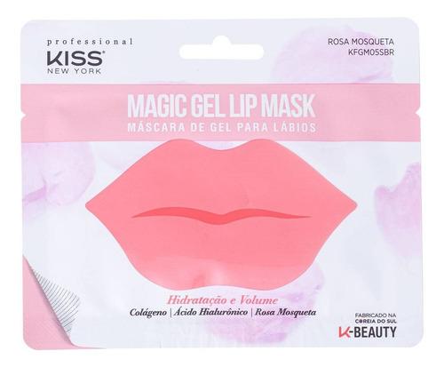 Kiss New York Magic Gel - Máscara Para Lábios 7g Blz