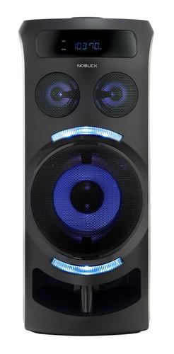 Parlante Noblex Mnt290 Portátil Con Bluetooth Negro 110v/240v