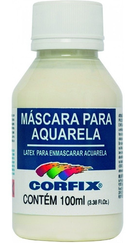 Mascara Para Aquarela 100ml Corfix Un