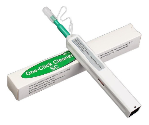 Lapiz Limpiador De Conectores Fibra Óptica One Click Cleaner
