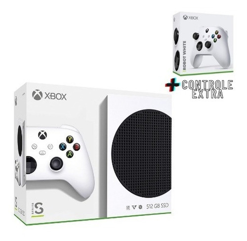Microsoft Xbox Series S 512gb Ssd 2 Controles Nf Garantia