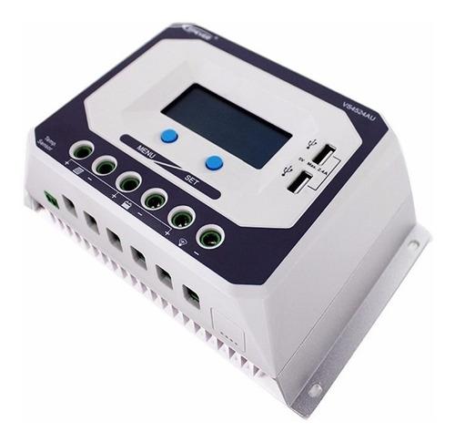 Controlador Regulador Solar Epever Vs4524au 45a Lcd Usb Kwh