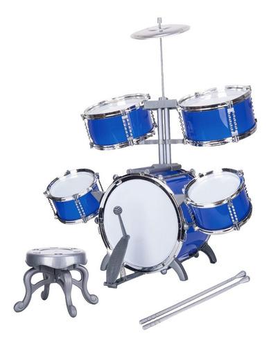 Bateria Infantil De Brinquedo Musical Jazz Drum