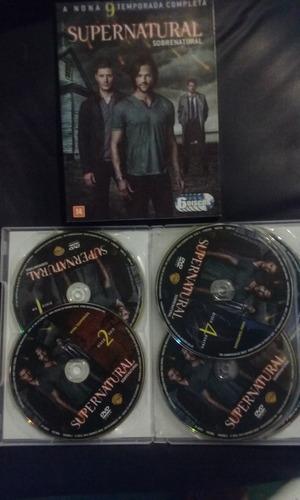 Dvd Sobrenatural 9 Temporada