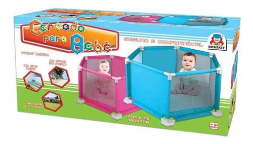 Cercado Para Bebê Rosa 950-4 - Braskit