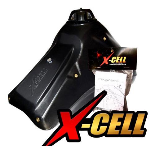 Tanque Crf230 Adaptavel Para Xr200/tornado + Kit De Fixação Original